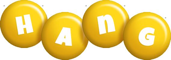 Hang candy-yellow logo
