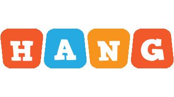Hang comics logo