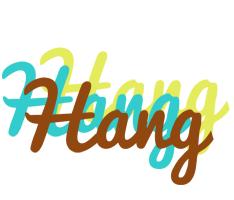 Hang cupcake logo