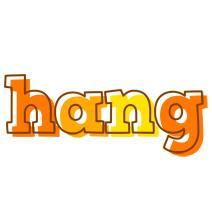 Hang desert logo