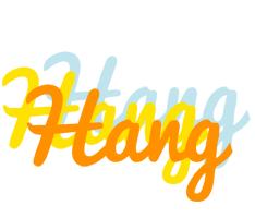 Hang energy logo