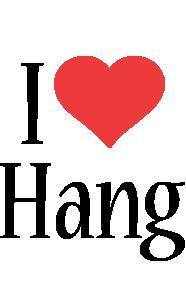 Hang i-love logo