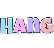 Hang pastel logo