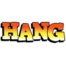 Hang sunset logo