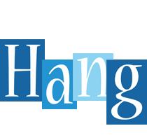 Hang winter logo