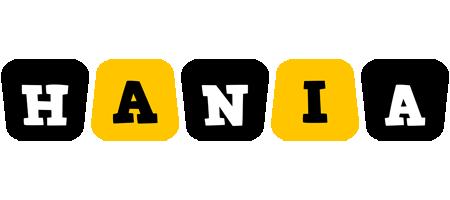 Hania boots logo
