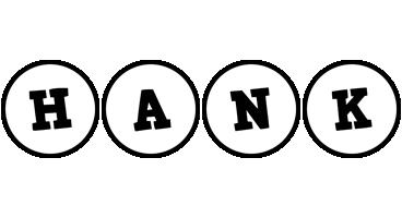 Hank handy logo