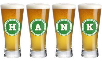 Hank lager logo