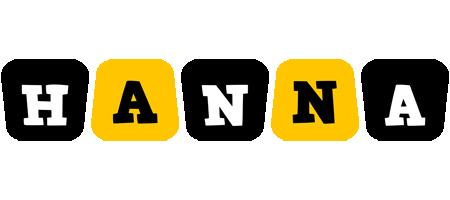 Hanna boots logo