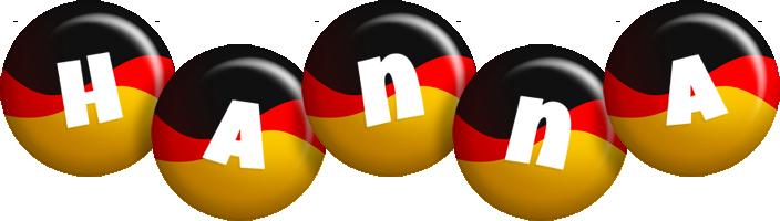 Hanna german logo