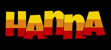 Hanna jungle logo
