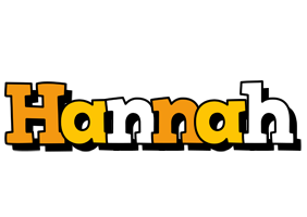 Hannah cartoon logo