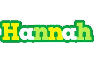 Hannah soccer logo