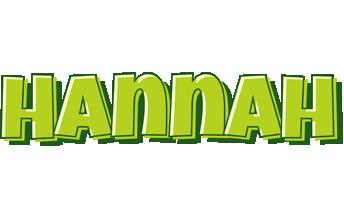 Hannah summer logo