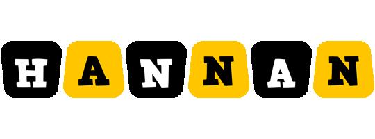 Hannan boots logo