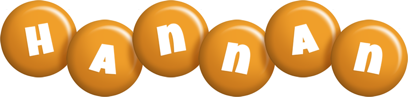 Hannan candy-orange logo