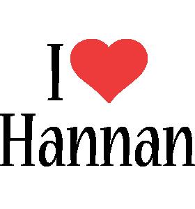 Hannan i-love logo