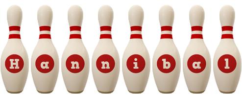 Hannibal bowling-pin logo