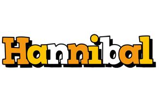 Hannibal cartoon logo