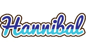 Hannibal raining logo