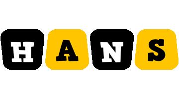 Hans boots logo
