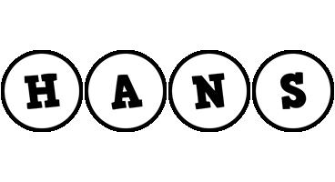 Hans handy logo
