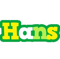 Hans soccer logo
