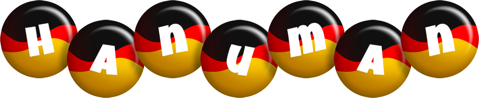 Hanuman german logo