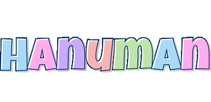 Hanuman pastel logo
