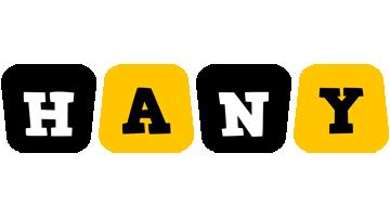 Hany boots logo