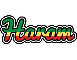 Haram african logo