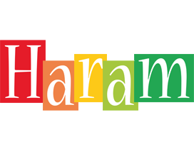 Haram colors logo