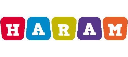 Haram daycare logo