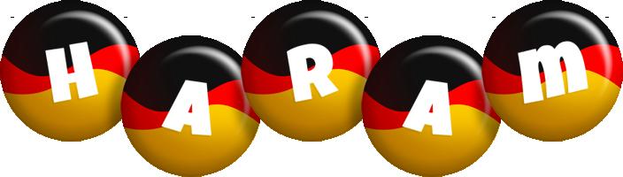 Haram german logo