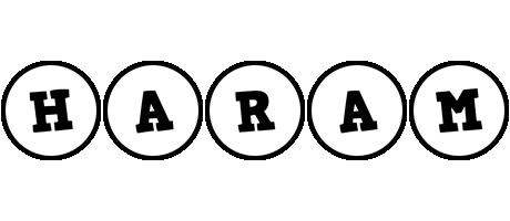 Haram handy logo