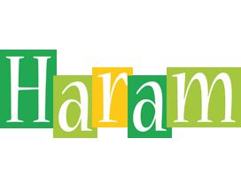 Haram lemonade logo