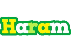Haram soccer logo