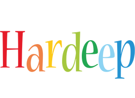 Hardeep birthday logo