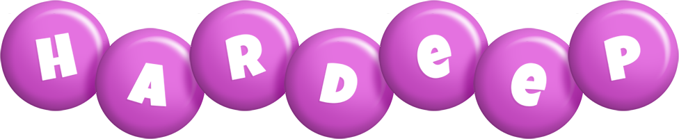 Hardeep candy-purple logo