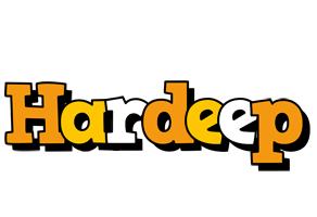 Hardeep cartoon logo