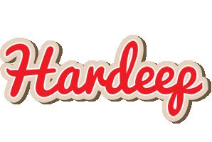 Hardeep chocolate logo