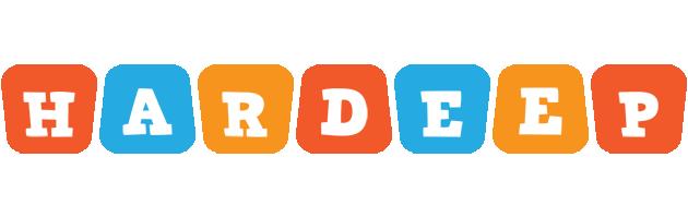 Hardeep comics logo