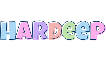 Hardeep pastel logo