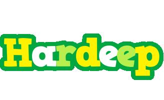 Hardeep soccer logo