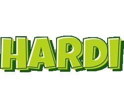 Hardi summer logo