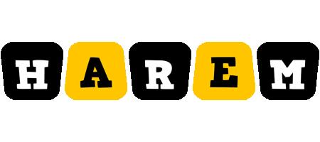 Harem boots logo