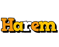 Harem cartoon logo