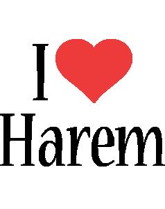 Harem i-love logo