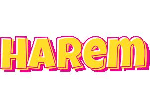 Harem kaboom logo