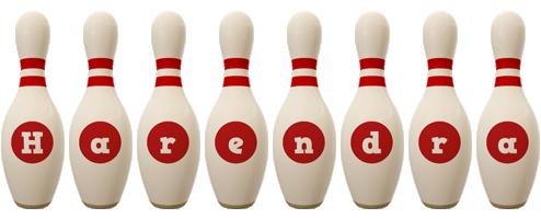 Harendra bowling-pin logo